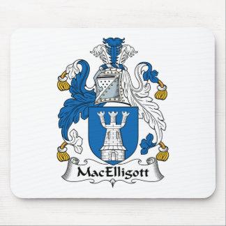 Escudo de la familia de MacElligott Mousepads