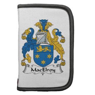 Escudo de la familia de MacElroy Planificador