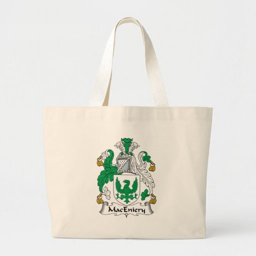 Escudo de la familia de MacEniery Bolsa De Mano