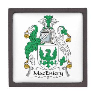 Escudo de la familia de MacEniery Caja De Regalo De Calidad