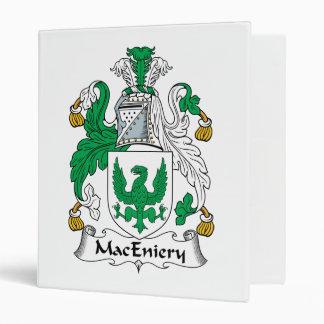 """Escudo de la familia de MacEniery Carpeta 1"""""""