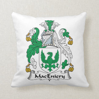 Escudo de la familia de MacEniery Cojín