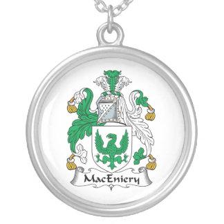 Escudo de la familia de MacEniery Colgante Redondo