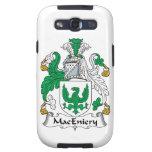 Escudo de la familia de MacEniery Galaxy S3 Protectores