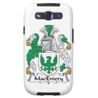 Escudo de la familia de MacEniery Galaxy SIII Coberturas