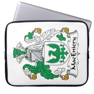 Escudo de la familia de MacEniery Fundas Computadoras