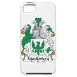 Escudo de la familia de MacEniery iPhone 5 Carcasa