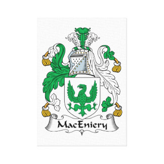 Escudo de la familia de MacEniery Impresion En Lona