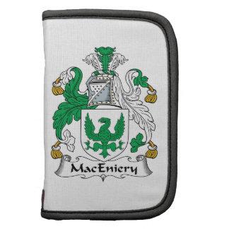 Escudo de la familia de MacEniery Planificadores