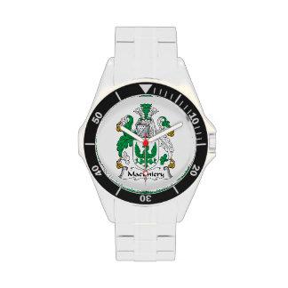 Escudo de la familia de MacEniery Relojes De Mano