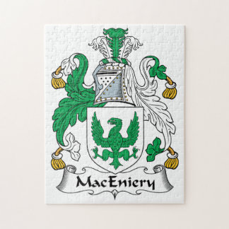 Escudo de la familia de MacEniery Rompecabeza