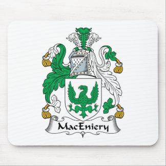 Escudo de la familia de MacEniery Alfombrillas De Ratón