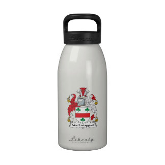 Escudo de la familia de MacEntaggart Botellas De Agua Reutilizables