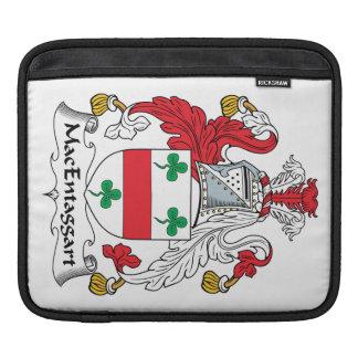 Escudo de la familia de MacEntaggart Fundas Para iPads