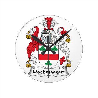 Escudo de la familia de MacEntaggart Reloj