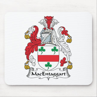Escudo de la familia de MacEntaggart Tapetes De Ratón