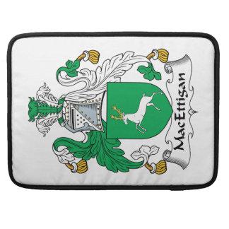 Escudo de la familia de MacEttigan Fundas Macbook Pro
