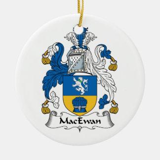 Escudo de la familia de MacEwan Ornamento De Navidad