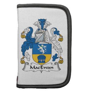 Escudo de la familia de MacEwan Planificador