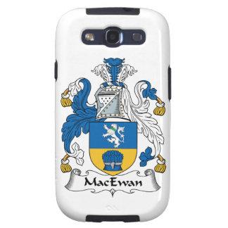 Escudo de la familia de MacEwan Galaxy S3 Fundas