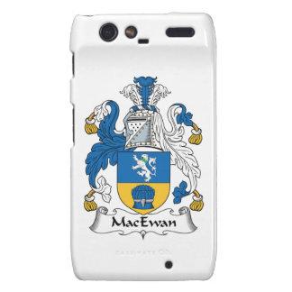 Escudo de la familia de MacEwan Motorola Droid RAZR Carcasas