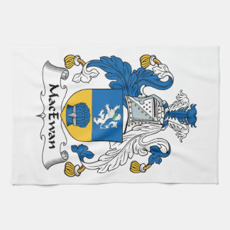 Escudo de la familia de MacEwan Toalla