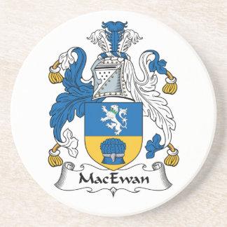 Escudo de la familia de MacEwan Posavasos Para Bebidas