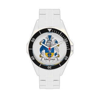 Escudo de la familia de MacEwan Relojes De Pulsera