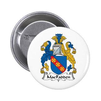 Escudo de la familia de MacFadden Pin