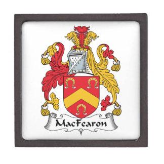 Escudo de la familia de MacFearon Cajas De Regalo De Calidad