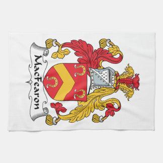 Escudo de la familia de MacFearon Toallas De Mano