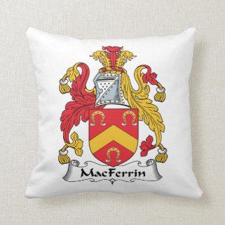 Escudo de la familia de MacFerrin Cojin