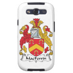 Escudo de la familia de MacFerrin Galaxy S3 Carcasas