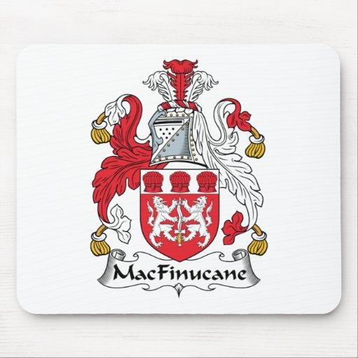 Escudo de la familia de MacFinucane Alfombrilla De Ratón