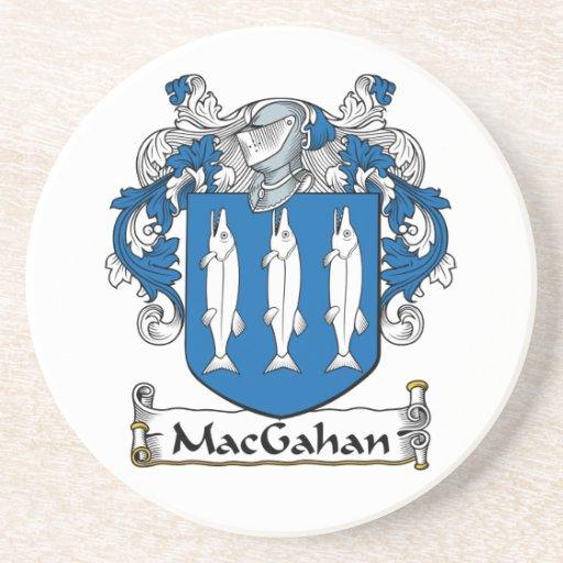 Escudo de la familia de MacGahan Posavasos Manualidades