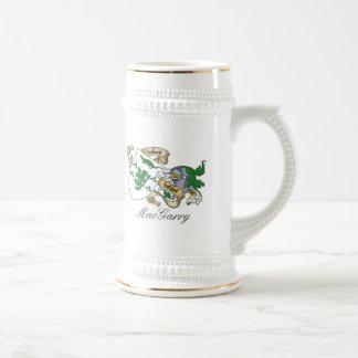 Escudo de la familia de MacGarry Jarra De Cerveza