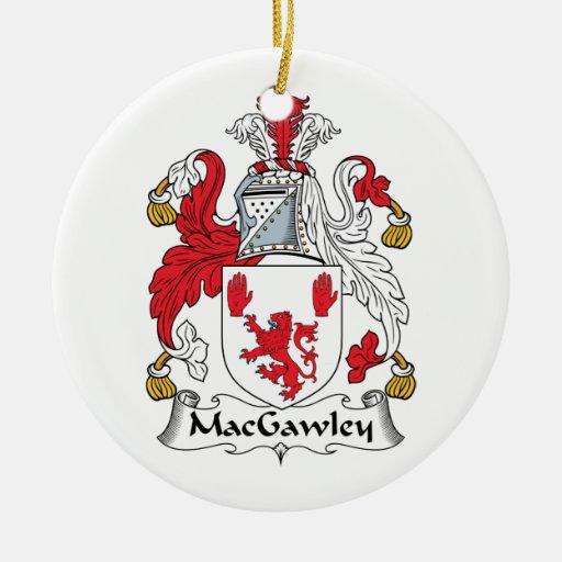 Escudo de la familia de MacGawley Ornatos