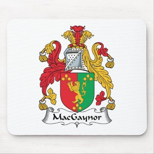 Escudo de la familia de MacGaynor Mouse Pad