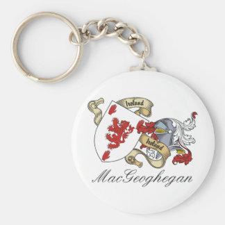Escudo de la familia de MacGeoghegan Llavero Personalizado