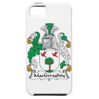 Escudo de la familia de MacGeraghty iPhone 5 Carcasas