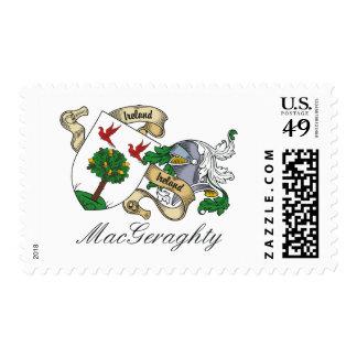 Escudo de la familia de MacGeraghty Sellos