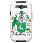 Escudo de la familia de MacGettigan Galaxy SIII Carcasa