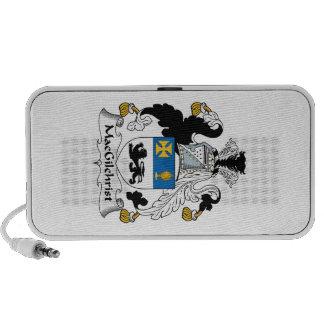 Escudo de la familia de MacGilchrist iPhone Altavoz