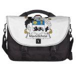 Escudo de la familia de MacGilchrist Bolsas Para Portátil