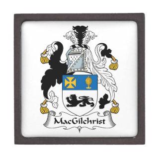 Escudo de la familia de MacGilchrist Cajas De Recuerdo De Calidad