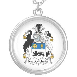 Escudo de la familia de MacGilchrist Colgante Redondo