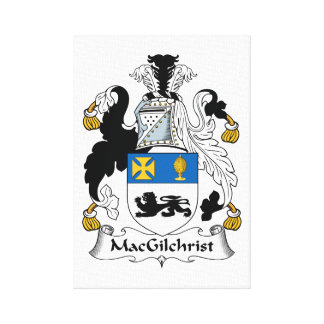 Escudo de la familia de MacGilchrist Impresiones En Lienzo Estiradas