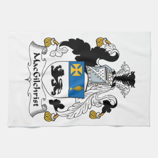 Escudo de la familia de MacGilchrist Toalla De Cocina