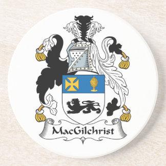 Escudo de la familia de MacGilchrist Posavasos Diseño