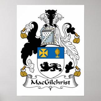 Escudo de la familia de MacGilchrist Póster